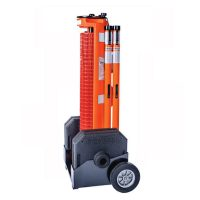 Portable Barriers Rapid Roll 2 Wheeled System